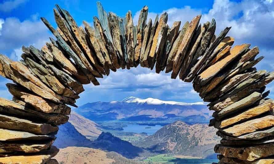 Lake District stone sculpture