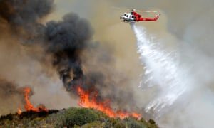 california wildfires drought