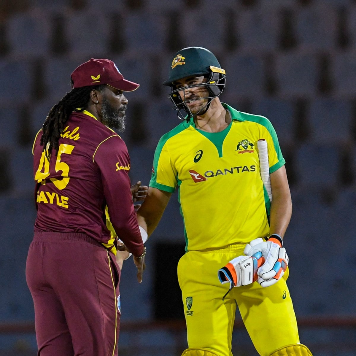 Australia Collapse Again In Second T20 International Loss To West Indies Australia Cricket Team The Guardian
