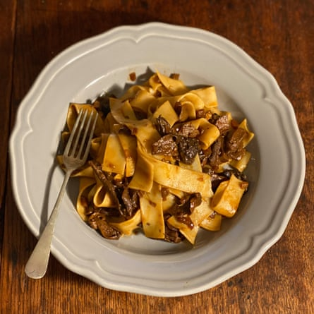 Angela Hartnett's mushroom pasta