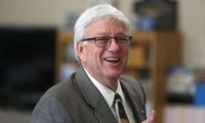 Jerry Foxhoven, the former director of Iowa's human services department and self-confessed Tupac superfan.