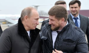 Vladimir Putin and Ramzan Kadyrov pictured together in 2011.