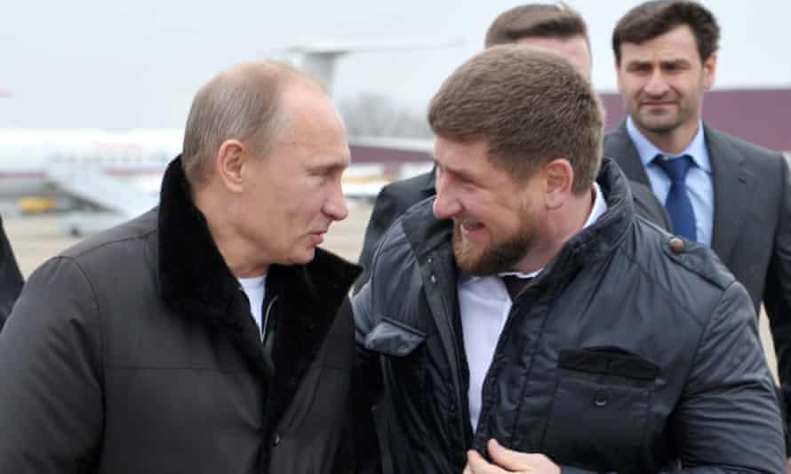 Vladimir Putin and Ramzan Kadyrov pictured together in 2011.