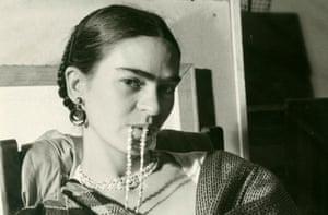 Frida Kahlo in 1933