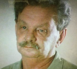 Yitzhak 'Antek' Zuckerman, a leader of the Warsaw ghetto uprising, appearing in Shoah.