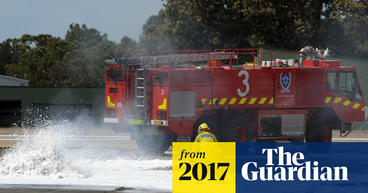 Airport firefighters demand their blood be tested for toxic