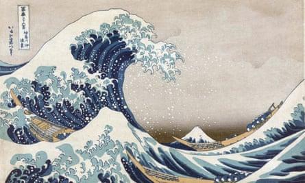 Detail from The Great Wave Off The Coast at Kanagawa, c1830, by Katsushika Hokusai.