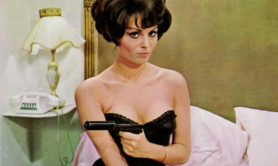 Daliah Lavi in The Spy With a Cold Nose, 1966.