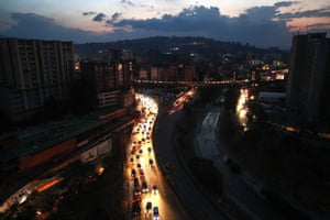 State oil company PDVSA said that fuel supplies were guaranteed, but queues at fuel stations extended for blocks