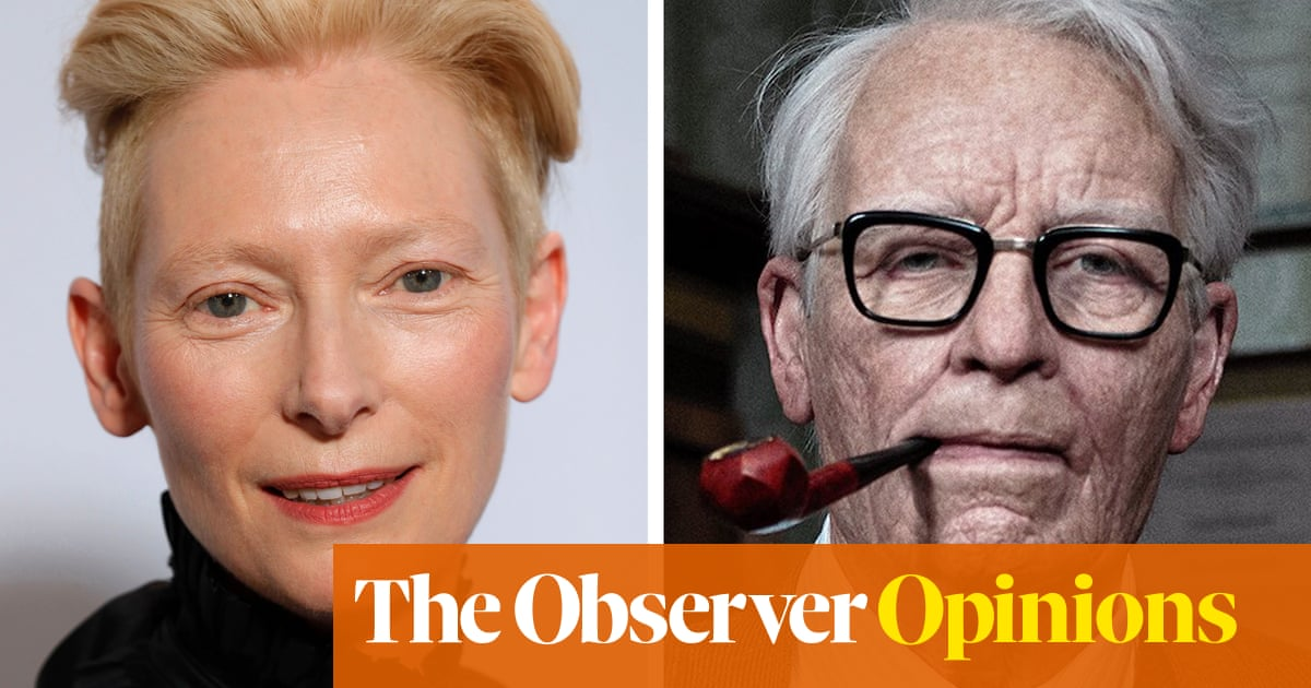 Well, at least youve got to admire Tilda Swintons balls   Lucy Siegle