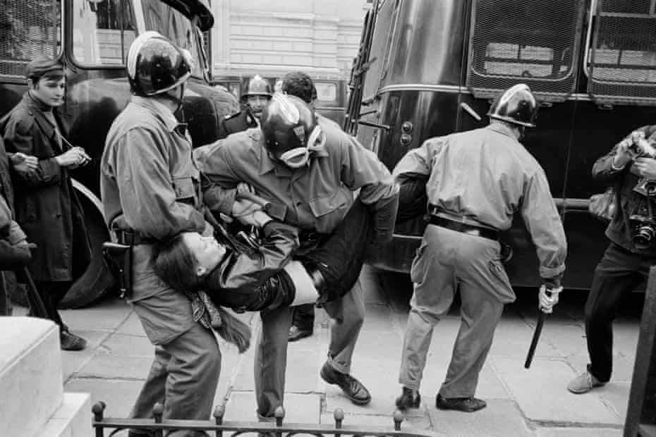Evacuation of the Sorbonne, May 1968.