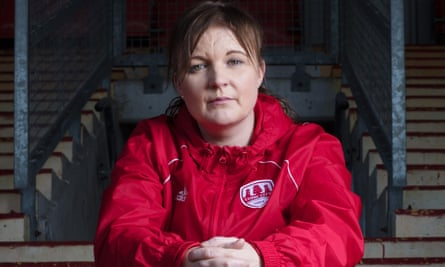 Lisa Fallon: 'I know what it's like when jobs are on the line and you're in a relegation battle.'