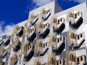 Scottish Pparliament building