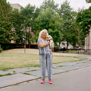 Sue and Fred, Ravenscroft Park, E2 by photographer Sophia Spring from the book Park Life.
