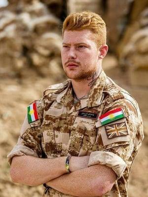 Joe Robinson in Makhmour, Iraqi Kurdistan.