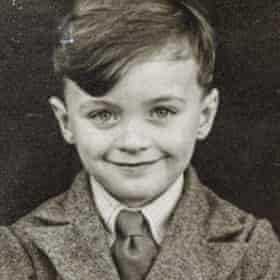Aynsley-Green as a child.
