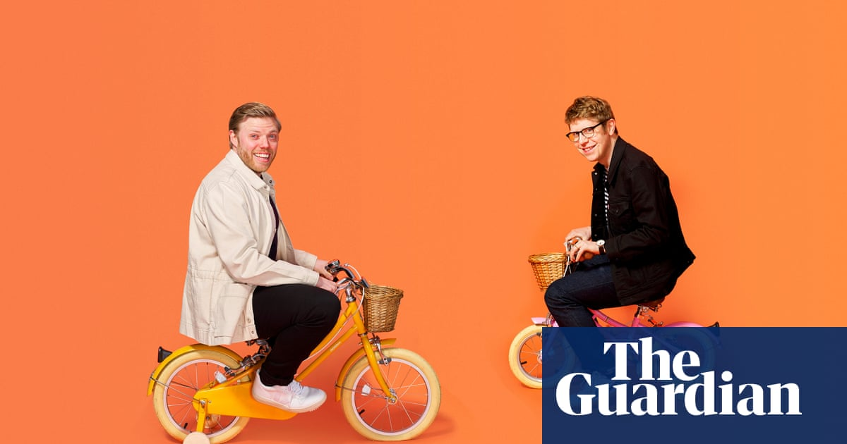 'For women, it's behind enemy lines!' Rob Beckett and Josh Widdicombe on their parenting podcast