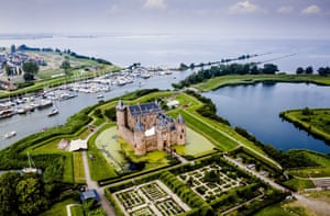 Muiderslot, The NetherlandsA view of Muiderslot, part of the New Dutch Waterline. The national monument, a historic defense line from 1815 between Muiden and Gorinchem, has been nominated by UNESCO to be listed as a World Heritage Site.