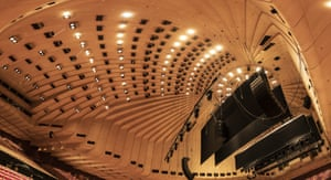 The concert hall roof