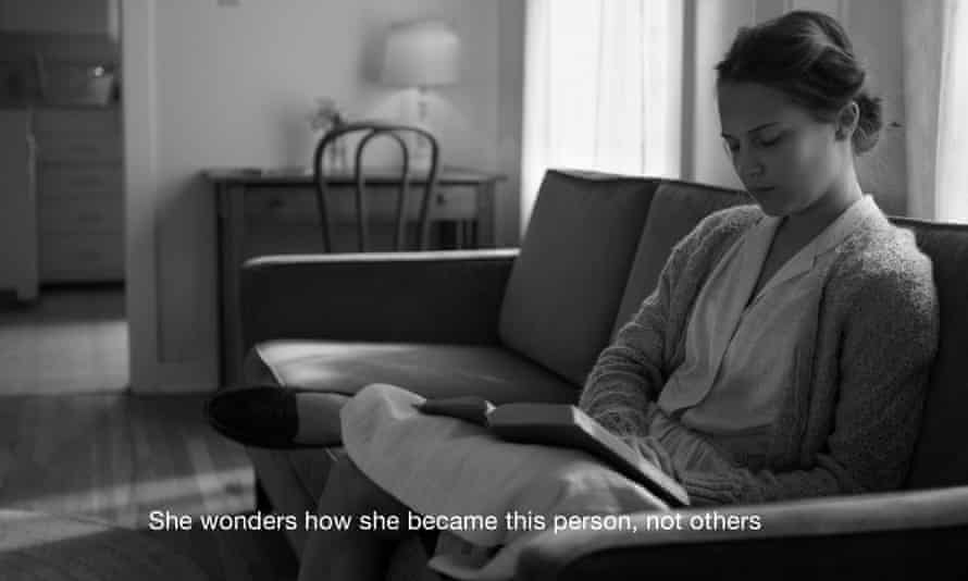 Alicia Vikander in I Am Easy To Find.