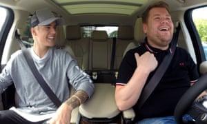Justin Bieber and James Corden Carpool Karaoke