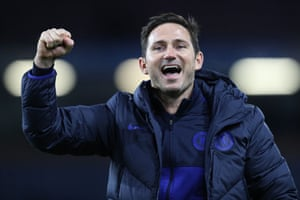 Chelsea Manager Frank Lampard looks pretty happy with the result.