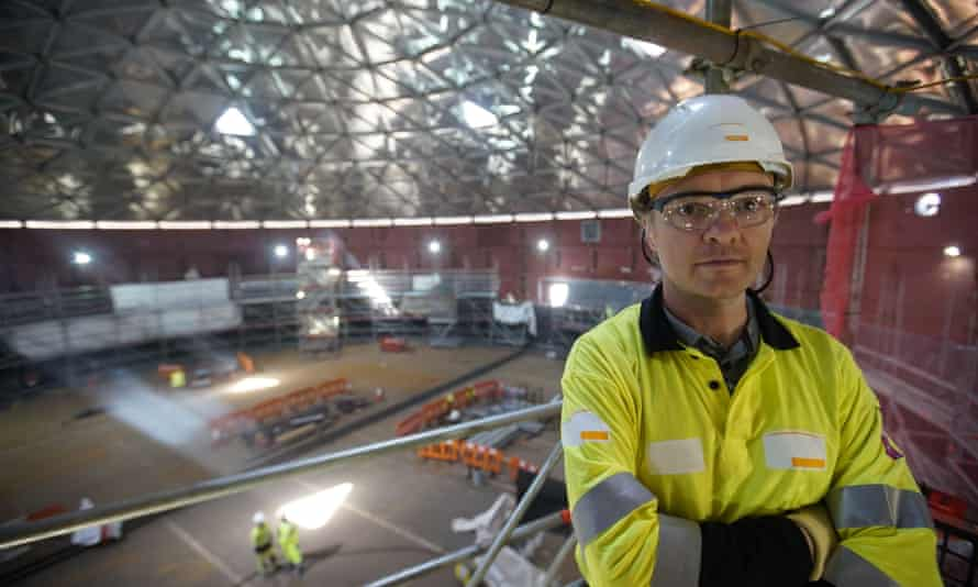 Nicolas Mathis, one of the construction engineers at work on Hinckley Point C