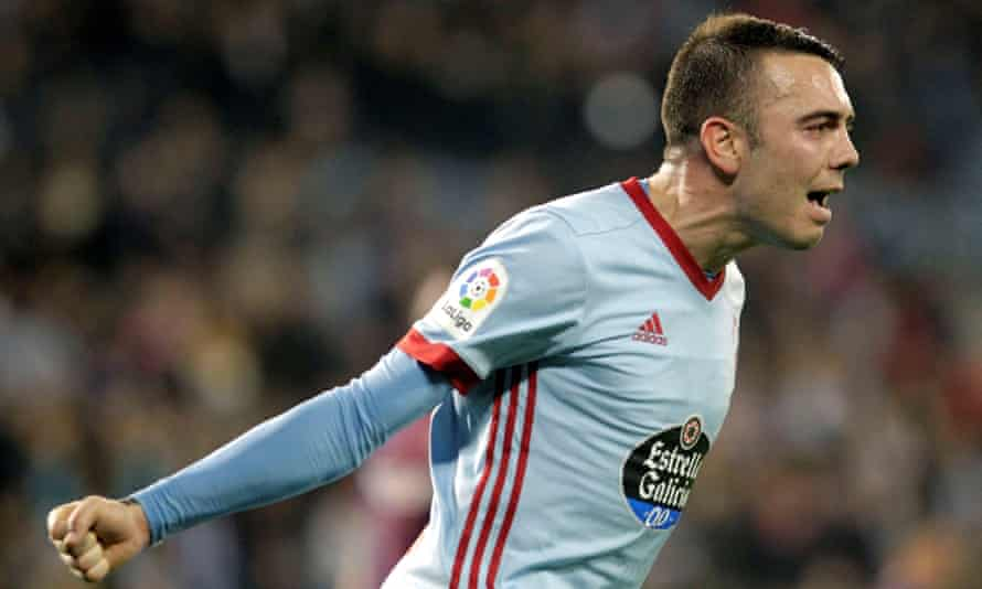 Celta's Iago Aspas fired in 22 league goals this season, and fired a broadside at one referee in particular.