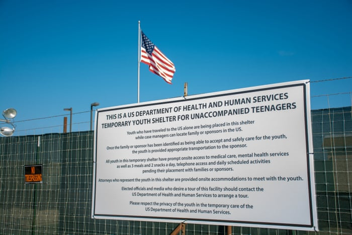 New Texas child detention center is clean and bright – but