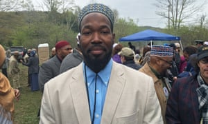 Mayor Rashid Clark of Islamberg, New York.