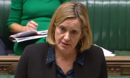 The work and pensions secretary, Amber Rudd, tells the Commons there are 'problems' with universal credit.