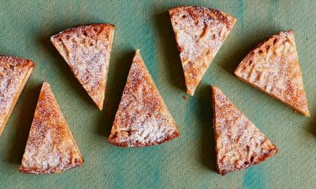 Tamal Ray's recipe for toscakaka, or Swedish almond cake