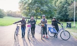 A bike project in Glasgow