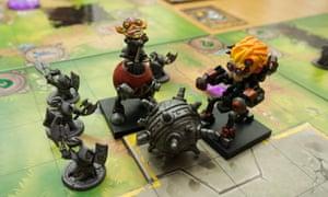Mechs vs Minions board game