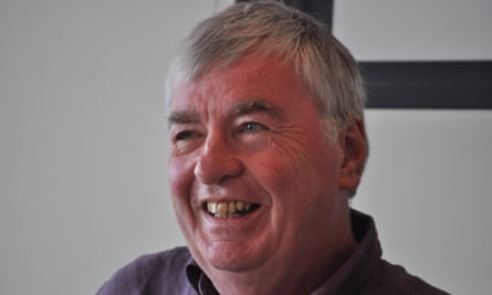 Dave Laing in 2012. He showed his versatility and deep knowledge in the many obituaries he wrote for the Guardian on figures as varied as George Harrison, Demis Roussos and Chas Hodges.