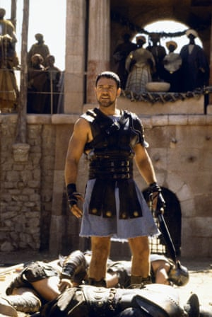 'What could one drink to make Ridley Scott's Gladiator bearable?'