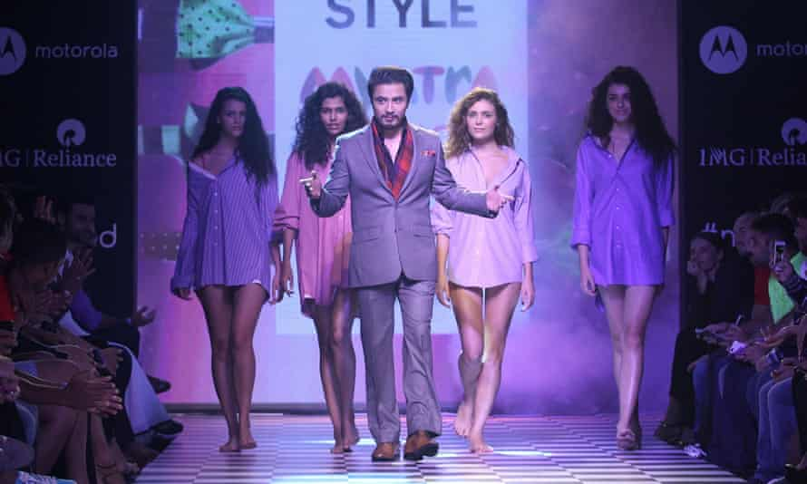 Ali Zafar at the Men's Health Style show in Mumbai in 2014.