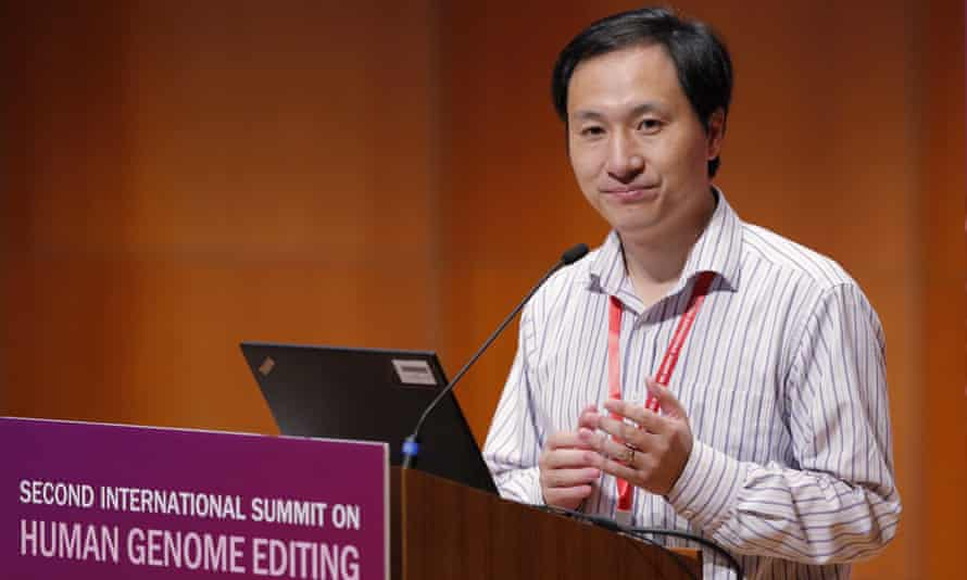 He Jiankui, who claims to have helped make the world's first gene-edited babies