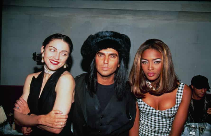Naomi CampbellUNITED STATES - 22nd May 1991: Naomi Campbell with Madonna and Steven Meisel at her 21st birthday party. (Photo by The LIFE Picture Collection via Getty Images)