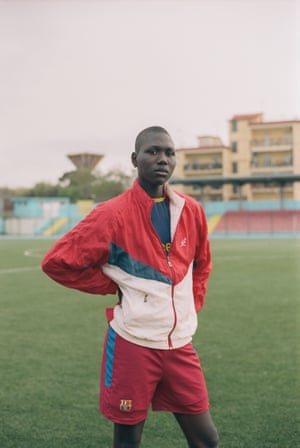 Abdoulie by Jasper Fry 'Abdoulie plays for Afro Napoli United, a Neapolitan football club in the lower leagues which focuses on anti-racism and integrates refugee players with local Italians.'