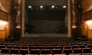 An empty stage