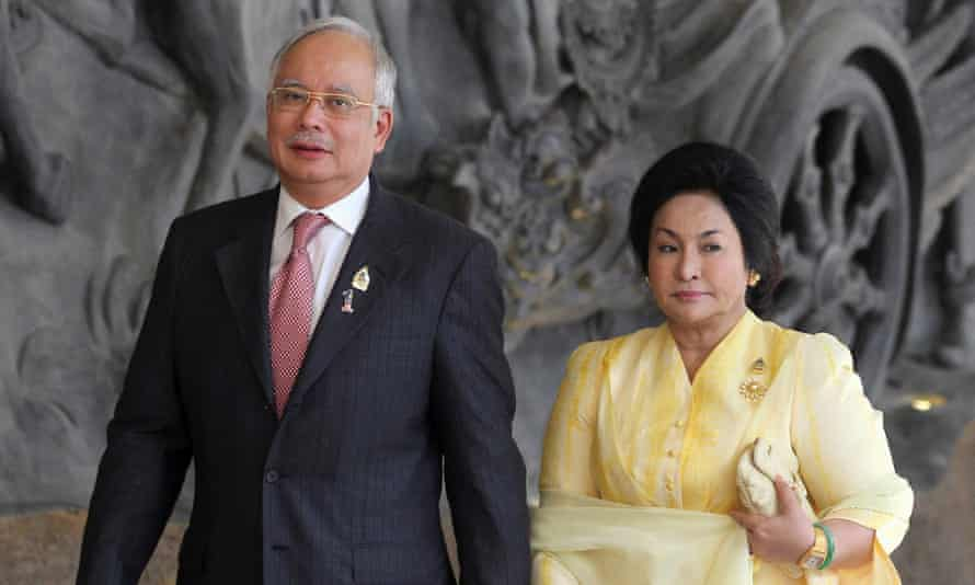 Najib Razak and Rosmah Mansor