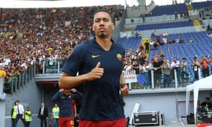 Chris Smalling has joined Roma from Manchester United on a season-long loan deal and could make his debut for them against Sassuolo later this month