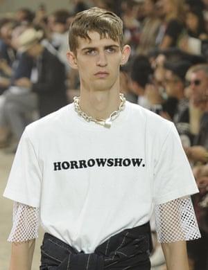 Sacai show, Runway, Paris Men's Fashion Week, Spring Summer 2017