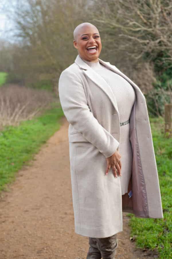 Christala Fletcher, who has alopecia