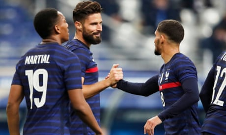 International roundup: Giroud goes past Platini in France all-time scoring charts