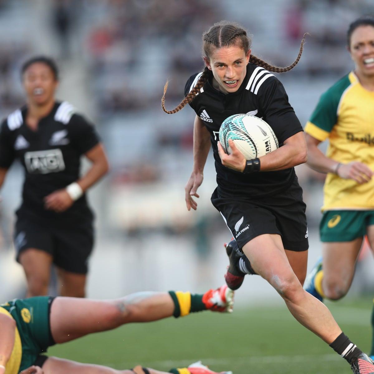 New Zealand Black Ferns Crush Australia S Wallaroos Women S Team 67 3 Rugby Union The Guardian