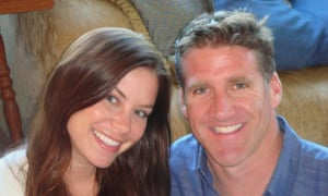 Brittany Maynard pictured with husband Dan Diaz.