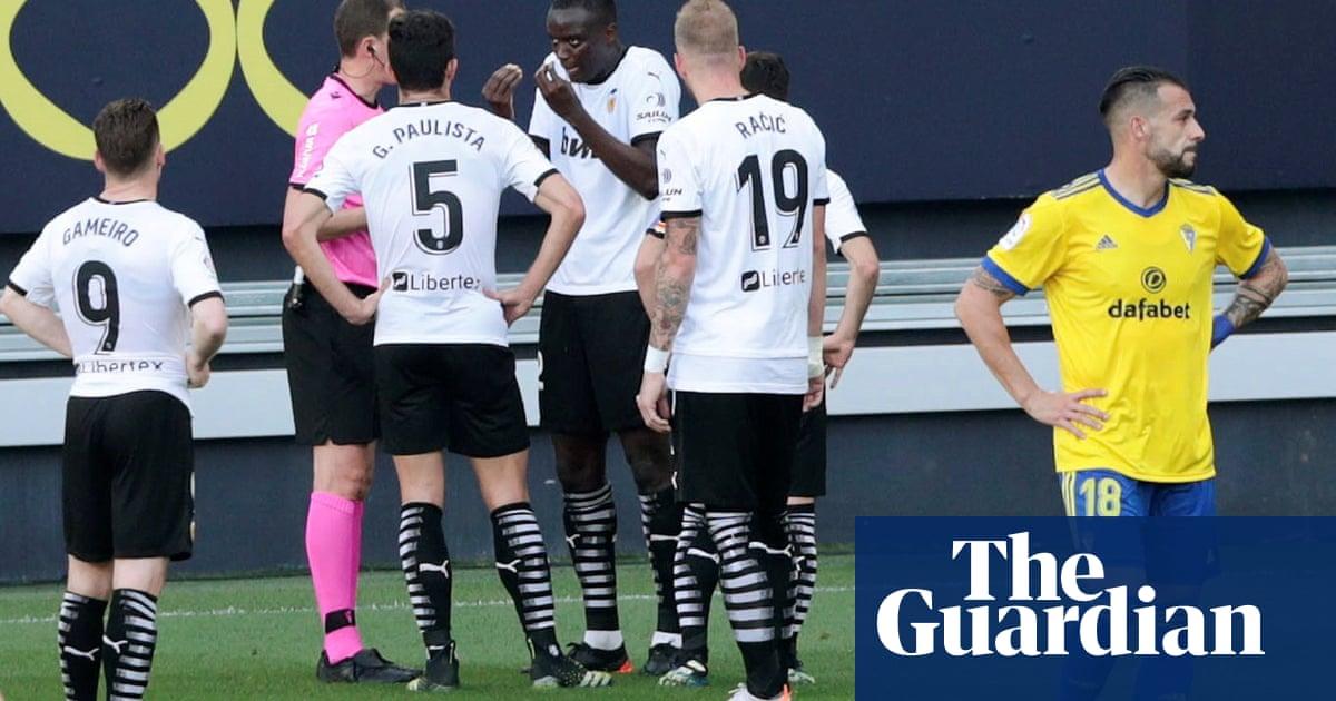 La Liga finds no evidence Juan Cala racially abused Mouctar Diakhaby
