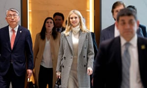 Ivanka Trump  arrives at Incheon international airport  near Seoul